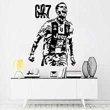 Ronaldo Wall Sticker Football Star Door Window