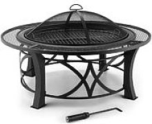 Ronda Fire Pit ø95cm Barbecue Fireplace Spark