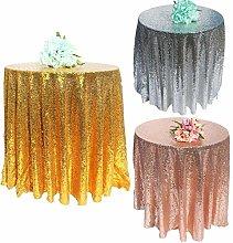 RONGER 1Pcs/lot Sequin Tablecloth Glitter