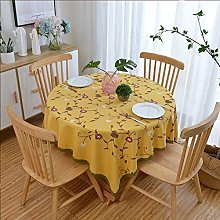 RONGER Embroidered Tablecloth Small Fresh Lace