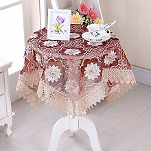 RONGER Flower Tablecloth Embroidery Flower Hollow