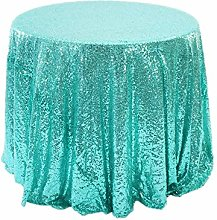 RONGER Multi Color Size Sequin Tablecloth Glitter