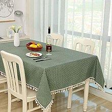 RONGER Polka Dot Check Tablecloth Dinner