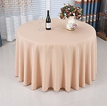 RONGER Round Tablecloth Polyester table cloth