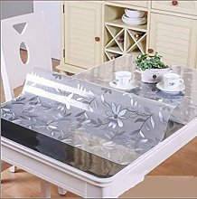 RONGER Soft Glass Tablecloth Transparency PVC