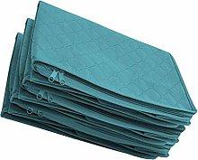 rongweiwang 4pcs Non-Woven Window Storage Bag