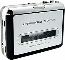 Wuqiong USB Cassette Tape Player Walkman Tape to MP3 Converter USB Flash Drive Stereo Audio Player Capture