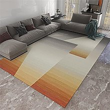 Room Accessories Room Rug Orange gray gradient
