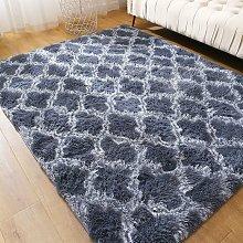 Room Carpet Soft Shaggy Dkhsy Mats Rectangular