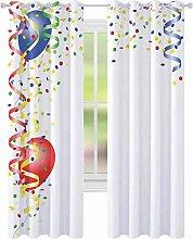 Room darkened insulation grommet curtain,
