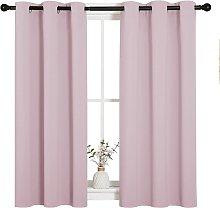 Room Darkening Curtain Panels for Girls Room,