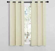Room Darkening Draperies Window Curtain Panels,