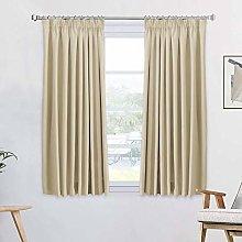 Room Darkening Pencil Pleat Curtains for Nursery