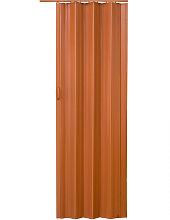 Room divider interior folding door - oak/dark