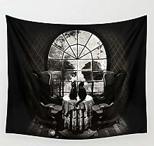 Room Skull Tapestry Wall Hanging Beach Throw Rug