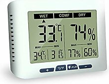 Room Thermometer, Digital Thermo Hygrometer with