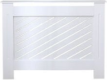 Roomee Milford living room white modern radiator