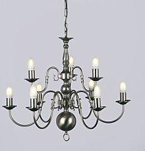Roosevelt 9-Light Candle-Style Chandelier Astoria