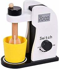 roosteruk Mixer, Wooden Kitchen Toy Puzzle Mixer