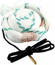 Rope Brush Bore Cleaner Snake Rifle Cleaning Kit
