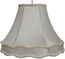 Rope Trim Lightshade with Double Scallop in and