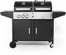 Roquito| Dual Fuel Combi Grill Barbecue by Deep