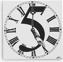 Rory Dobner 5 - Clock's Hand Decorative Tile