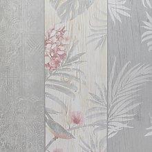 Rosa Panel Birds Motif Luxury Wallpaper Belgravia