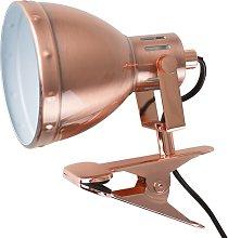 Rosalyn 15cm Desk Lamp Mercury Row Finish: Copper,