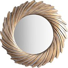 Rosalyn Round Mirror, 100cm