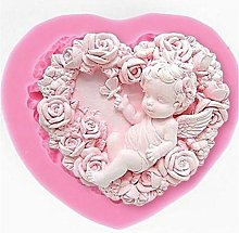 Rose Angel Craft Art Silicone Soap Mold, 3D Craft