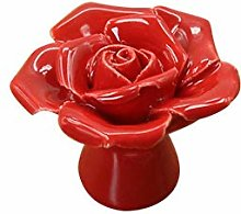 Rose Appearance Ceramic Door Knobs and Handles