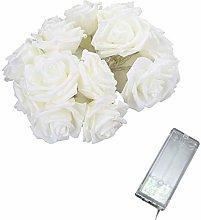 Rose Flower Indoor Fairy Lights 2M 10 Lights LED