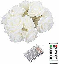 Rose Flower Indoor Fairy Lights 3M 20 Lights LED