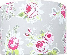 Rose Garden Pebble Floral Lampshade (30 cm