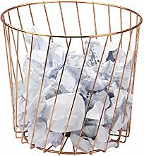 Rose Gold Wire Bin | Multi-Purpose Storage Basket