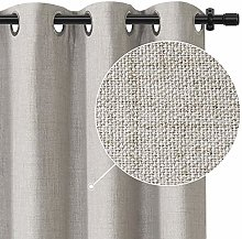 Rose Home Fashion 100% Blackout Curtain Set with