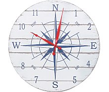 Rose Of The Winds Wall Clock