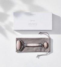 Rose Quartz Facial Roller, No Colour, One Size