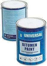 Rose Roofing BTROWEL1 Bitumen Trowel Mastic 1 Litre