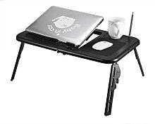 ROSEBEAR Folding Laptop Desk, Bed Lap Desk