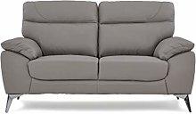Roseland Furniture - Roma Leather Sofa for Living