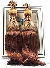 rosemaryrose Tie Backs for Curtains 2 PCS Curtain