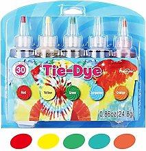 rosemaryrose Tie Dye Kit Fabric Dye,Tie-Dye Kit -