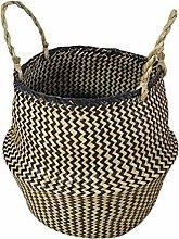 rosemaryrose Woven Shopping Basket Seagrass Basket