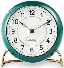 Rosendahl Station Table Alarm Clock White/green by