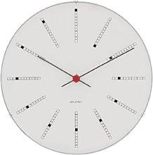 Rosendahl Wall Clock, aluminium, White, 16 cm