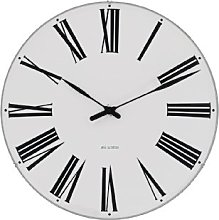 Rosendahl Wall Clock, aluminium, White, 21 cm