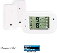 Rosenstein & Söhne Refrigerator Thermometer: