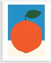 Rosi Feist - 'Blue & Orange' Wood Framed